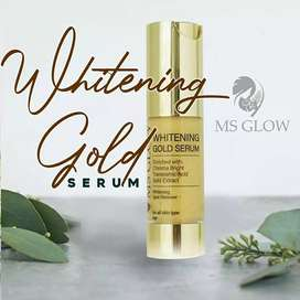 Whitening gold serum 24k gold ms glow