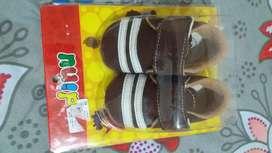 Sepatu santai wrn coklat 2 pasang