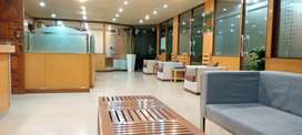 VIP FULL FURNISHED OFFICE FOR RENT WITH LIFT CHAMBER  WORK STATION