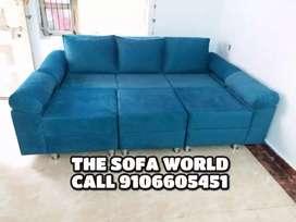 All in one, sofa bed, 3+2 seater sofa,L shape longer sofa,