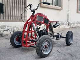 Homemade 50cc Quadbike For Teenager Or kids
