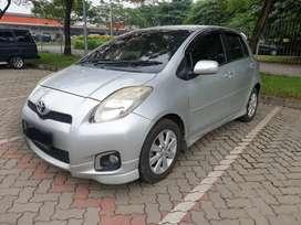 Yaris S limited AT Matic 2013 Silver Istimewa
