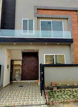 3 MARLA BRAND NEW DOUBLE STORY HOUSE FOR SALE IN ALKABIR TOWN PHASE 02