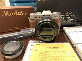FujiFilm XT20 KIT 16-50mm Full Aksesoris Garansi Resmi FFID