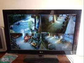 cctv kualitas dunia hikvision 4 kamera murah gan!!