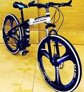 NEW MAC WHEEL 21 GEARS SHIMANO FOLDING CYCLE AVAILABLE.