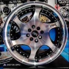 velg racing R 17  lubang 8 untuk mobil kijang livina avanza dll