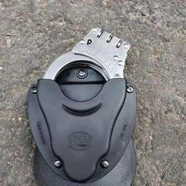 Sarung holster fobus mika borgol handcuff untuk kopel tni polisi polri