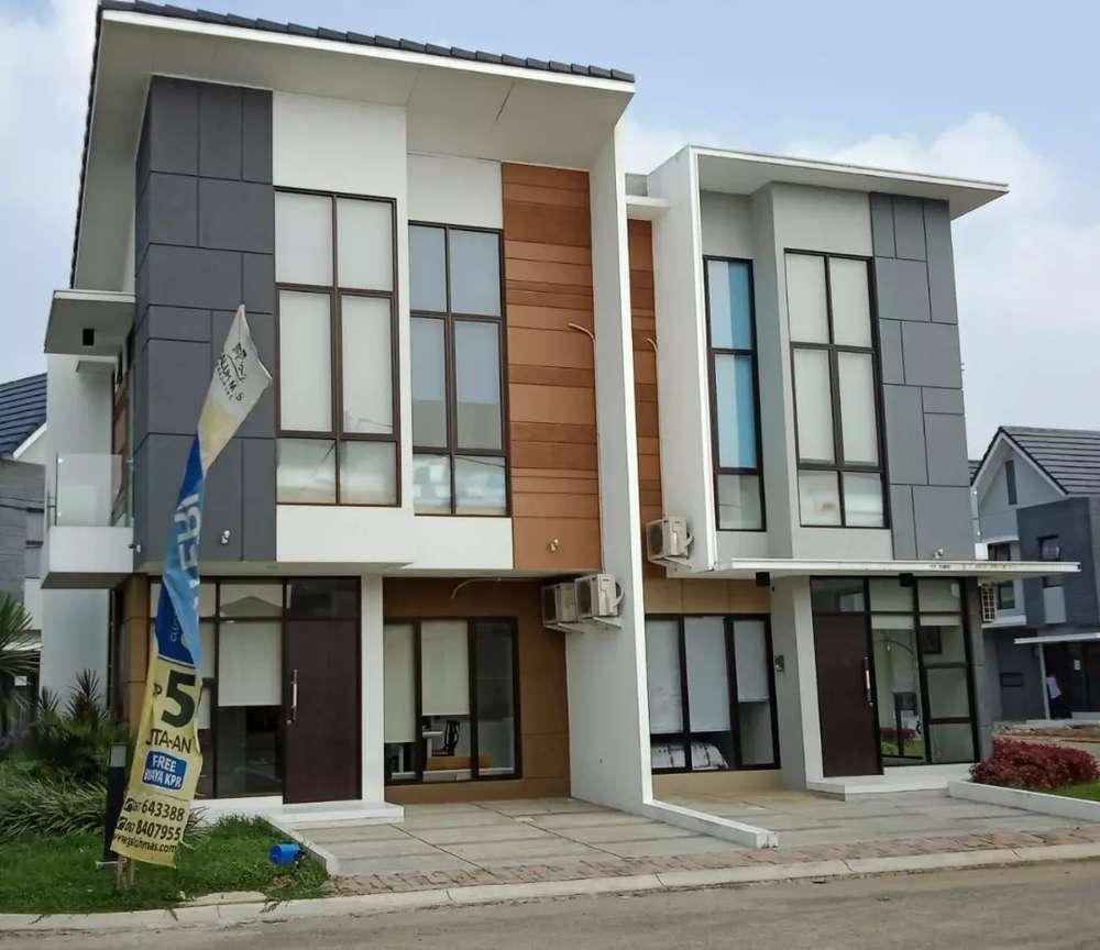 rumah minimalis modern strategis di karawang barat