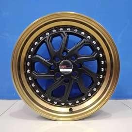 Velg Mobil Agya, Calya, Sirio, Spin dll Ring 15 HSR Wheel DOBO