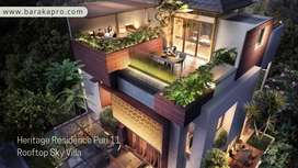 Heritage Residence Puri 11 Type 7 Rooftop Sky Villa 3 Milyaran