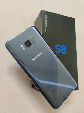 Samaung S8 64gb 1 year old orchid gray colour