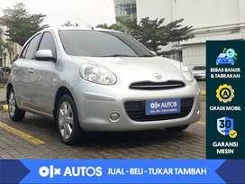 [OLX Autos] Nissan March 1.2 M/T 2013 Silver Metalik