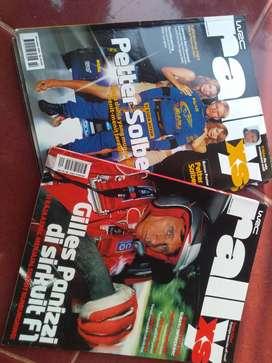 Dua majalah rally xs