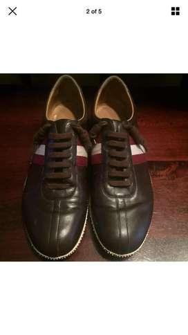 Sepatu Sneakers Bally 100% Ori Made in Switzerland