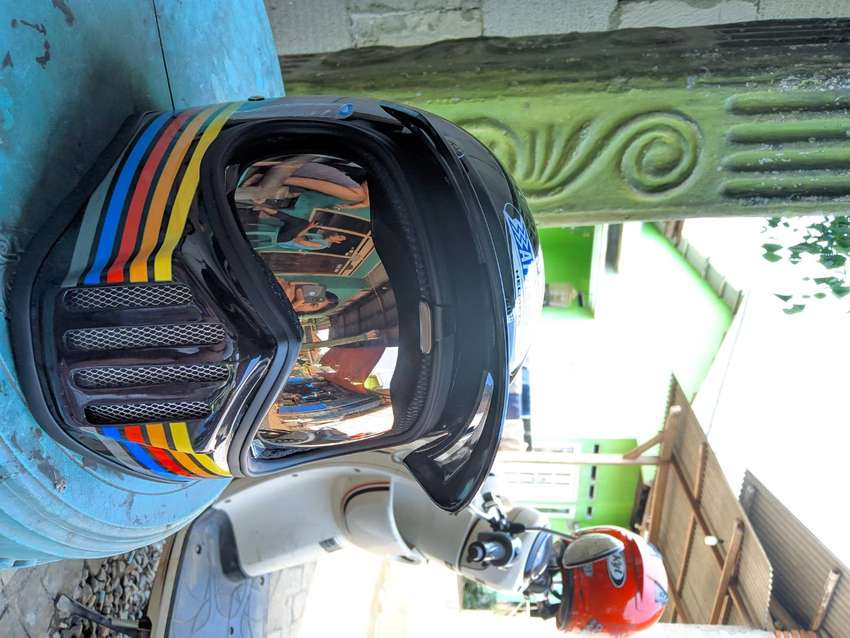 helm cakil masih baru