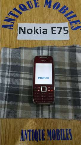 Nokia e75 Vintage old is Gold very rare and antique