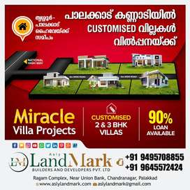 Residential plots at palakkad town area