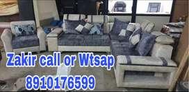 Adjustable Headrest Sofa with warranty