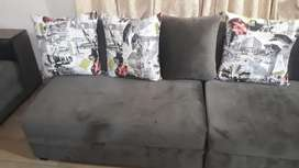 Ten seater sofa with elegent table