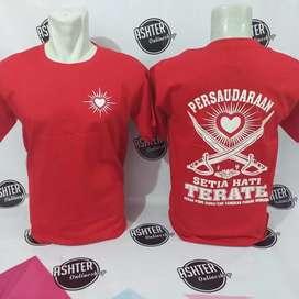 Kaos PSHT merah meriah