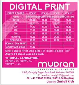 Any printing job we do