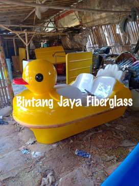 sepeda air mini kuning, jual bebek mini, sepeda air fiberglass