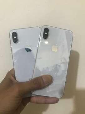 iPhone X 64GB ( 100% kondisi di jamin jos )