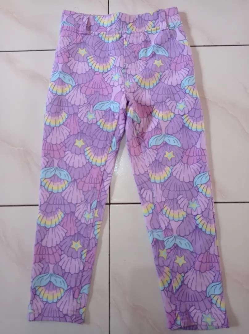Celana panjang anak lilac