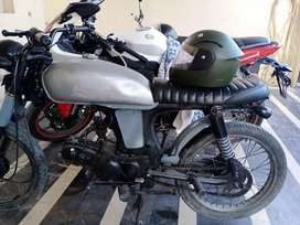 Modified cafe racer