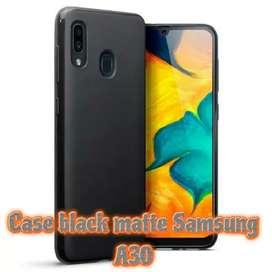 Matte Black Case Best seller Samsung A30.