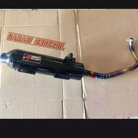 KNALPOT RACING BOBOKAN HONDA VARIO 125/150 LED