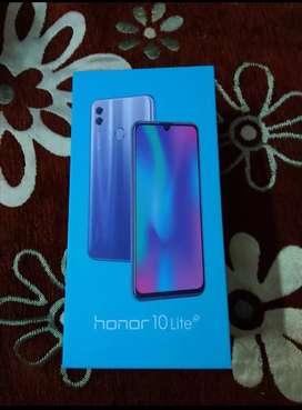 Honour 10 Lite 6 64 GB 1 year warranty best condition