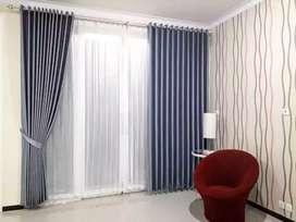 Wallpaper Curtain Korden Vitrase Hordeng Gorden Gordyn Blinds gt-20
