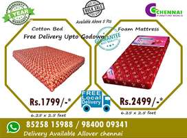 #8789 Mattress  Cotton bed  Single Double Queen Size