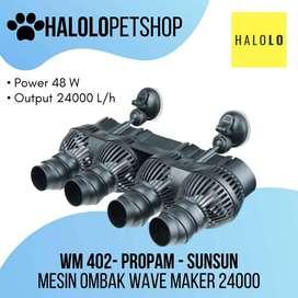 Mesin Ombak SUNSUN 24000 PROPAM WM 402 Wave Maker Aquarium