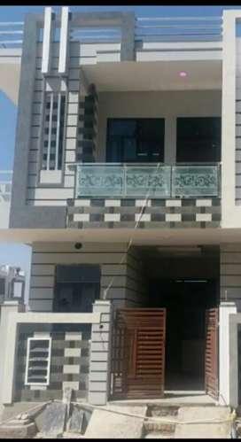 JDA 95% loan individual 3 BHK Villa for sale Mangalam City Kalwar Road