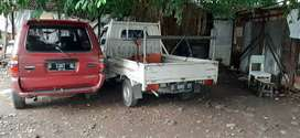 Angkutan barang Granmax L 300 Truk engkel Dobel dlm luar kota