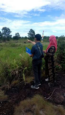 Tanah kavling kawasan bandara Syamsudin Noor baru