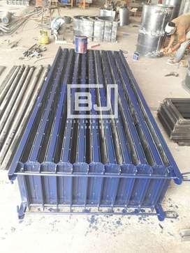 cetakan beton panel dan tiang