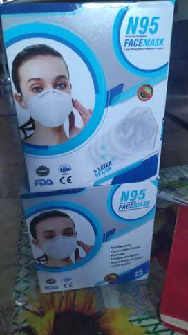N95 Face Mask with Headloops