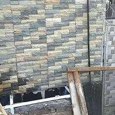 batu alam mozaik dinding