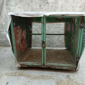 Hens and cocks cage