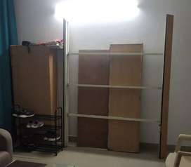 Double bed with Head box