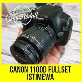 Canon 1100D fullset Istimewa