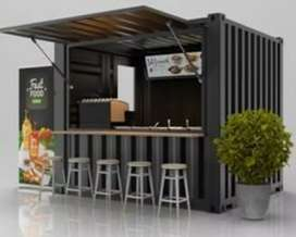 BOOTH SEMI CONTAINER / BOOTH JUALAN / FRANCHISE KEKINIAN
