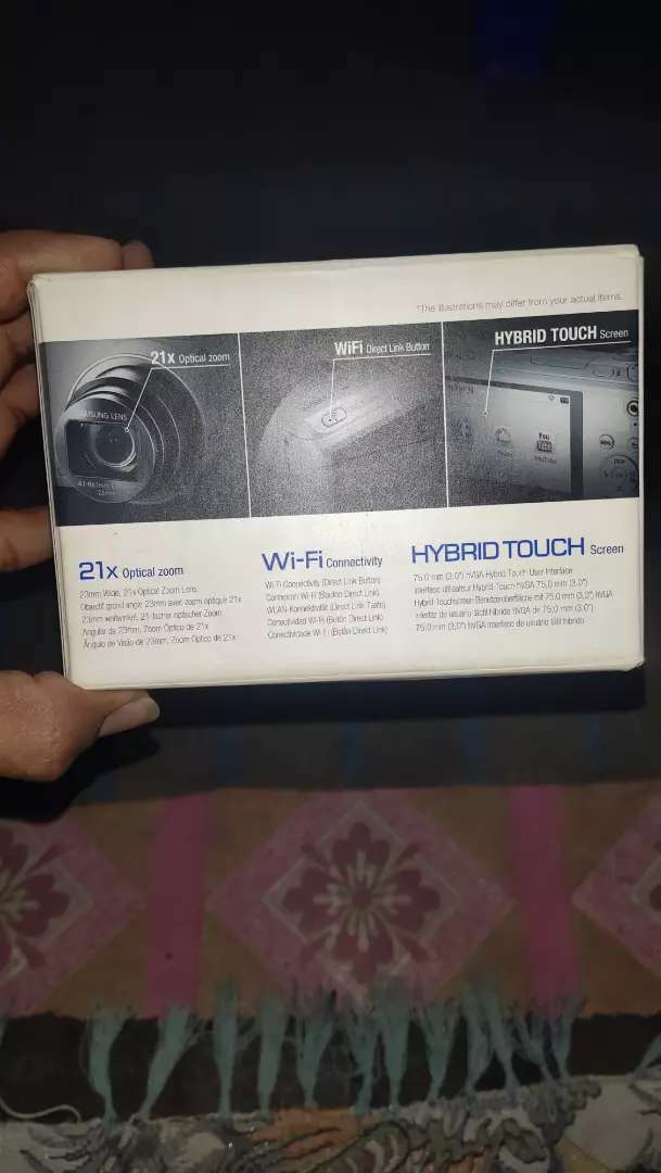 Wifi digital camera & video camera With Touch Screen 0