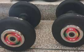 Dumbells available with best rate@125/kg