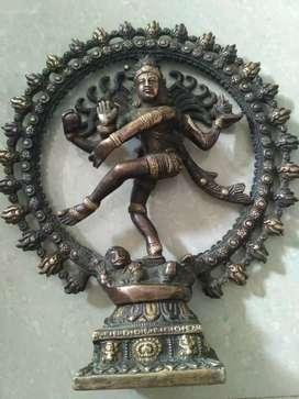 Natraj brass antique murti