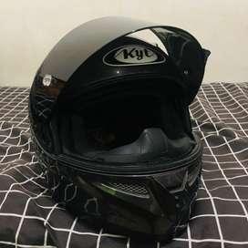 Helm KYT K2R GREY size L